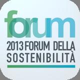 Logo del Forum della sostenibilità